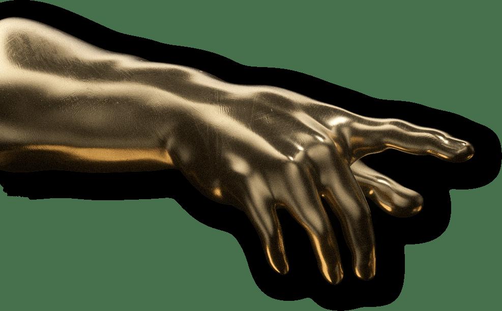 large left hand